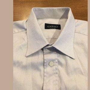 Men's Canali dress shirt button down